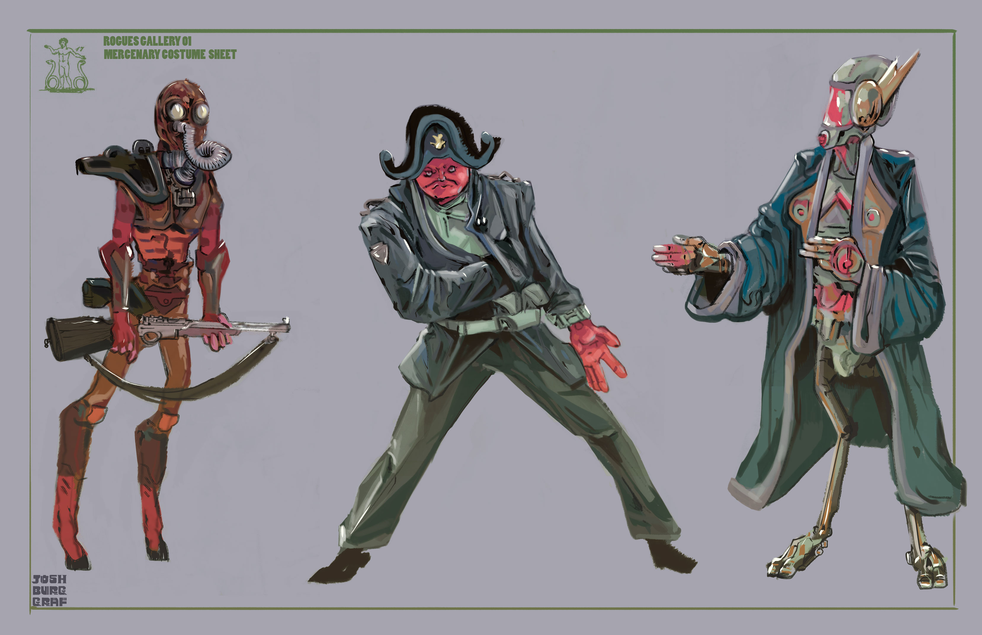 Rogues Gallery 01